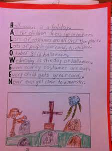 Halloween Acrostic Poem Ideas by All The Dots 2013 Happy New Year