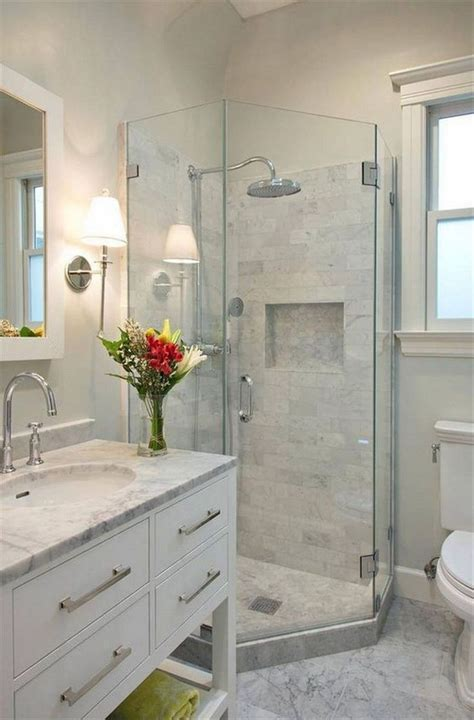 shower stall ideas   small bathroom