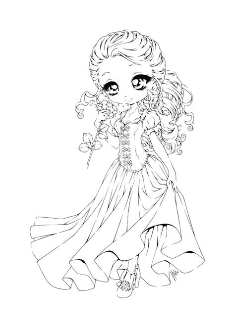 anime chibi theme anime chibi coloring pages images