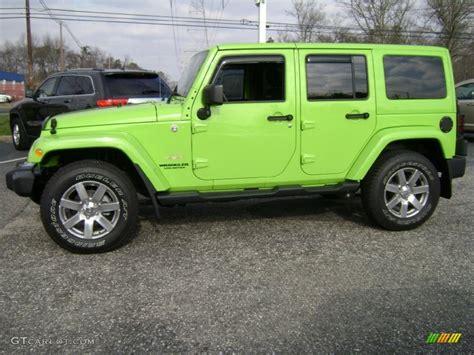 jeep unlimited green gecko green pearl 2013 jeep wrangler unlimited sahara 4x4