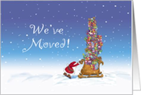 1200 x 1200 jpeg 132 кб. New Address Christmas Cards from Greeting Card Universe