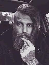 Undercut Hairstyle Men Hair Long Beard
