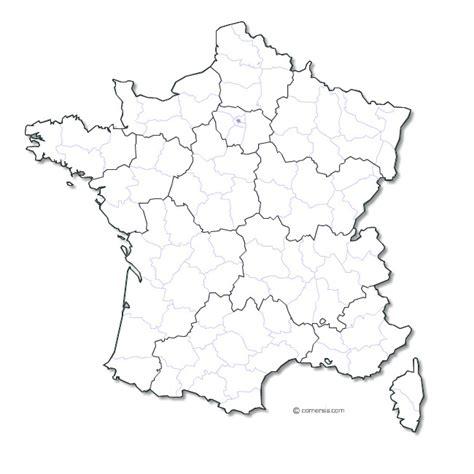 Carte De Département Et Région Vierge by Carte Region De Et Departement The Best Cart