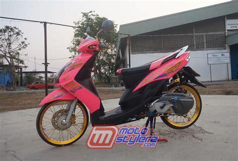 Motor Mio Soul Thailook by Modifikasi Mio Soul 2009 Karawang Thailook