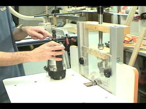 part  mlcs woodworking horizontal router table youtube