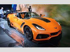 2019 Corvette ZR1 Convertible Debuts in Sunny Los Angeles