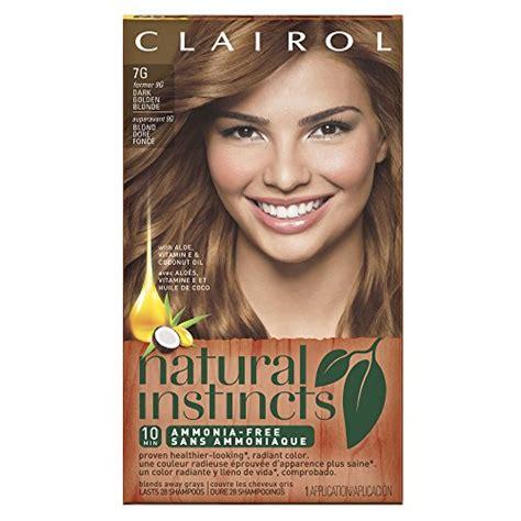 clairol natural instincts   golden honey dark