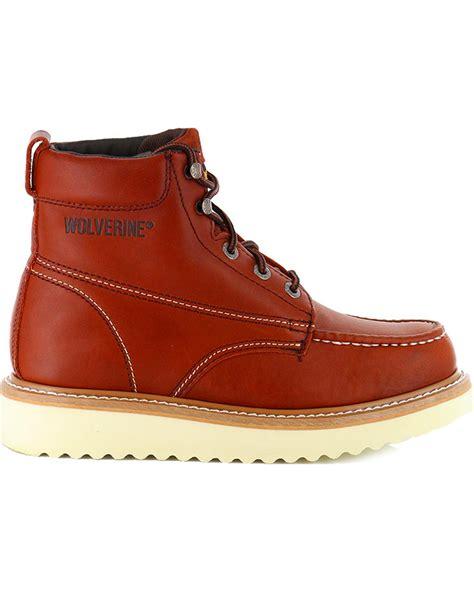 boot barn work boots wolverine s moc toe work boots boot barn