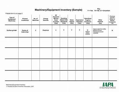 Template Inventory Equipment Templates Allbusinesstemplates