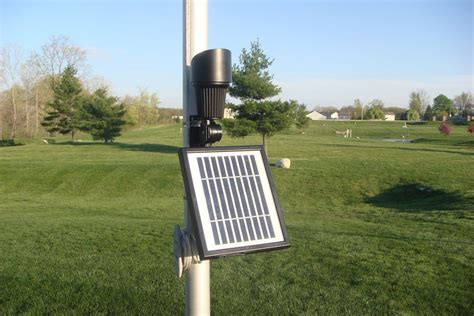 best commercial grade solar powered flagpole light ebay