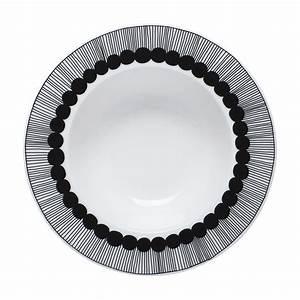 Teller Schwarz Weiß : siirtolapuutarha suppenteller 20 cm wei schwarz by marimekko made in design ~ Markanthonyermac.com Haus und Dekorationen
