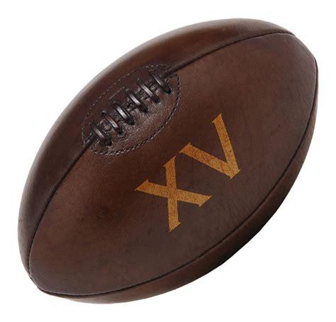 ballon si鑒e ballon cuir vintage xv taille 5 markus de mauriac