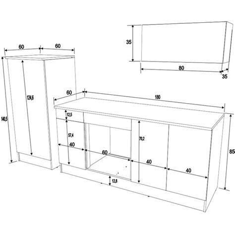 plan meuble cuisine modele meuble de cuisine cuisine en image
