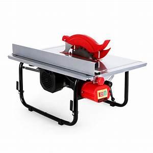 Lame De Scie Circulaire 600 : eberth scie circulaire sur table 600 watts 200 mm lame ~ Edinachiropracticcenter.com Idées de Décoration