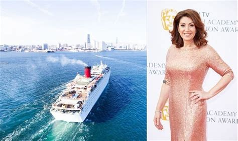 Cruise queen Jane McDonald reveals her favourite thing ...