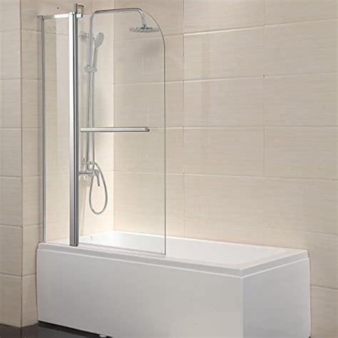 Bath Tub Shower Doors by Mecor Shower Door Hinged Frameless 1 4 Quot Clear Glass