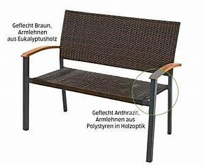 Gartenbank Rattan Aldi : gardenline geflecht gartenbank und geflechtsessel im aldi ~ A.2002-acura-tl-radio.info Haus und Dekorationen