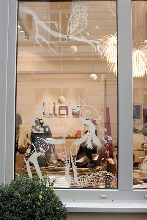 Weihnachtsdeko Fenster Kreidemarker by Weihnachtsfenster Mit Kreidemarker Edding