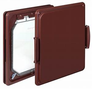 W ddb wood fitting dog door for Dog door flap material