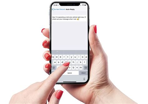 iphone auto reply text how to set an auto reply for messages calls on iphone