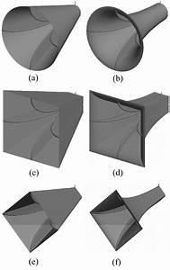 Variation Of The Quad Ridge Horn Antennas  A  Straight