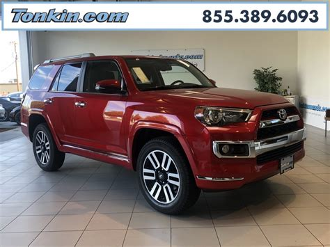 New Toyota 4runner by New 2018 Toyota 4runner Limited 4d Sport Utility In