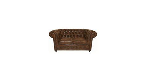 canapé retro design achetez votre canapé chesterfield vintage 2 places pas
