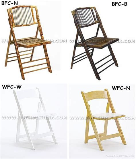 bamboo folding chair wfc01 huarui china manufacturer