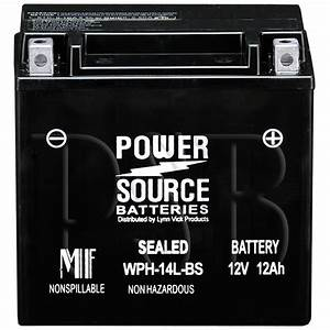 Harley Davidson 65989 97a Replacement Motorcycle Battery