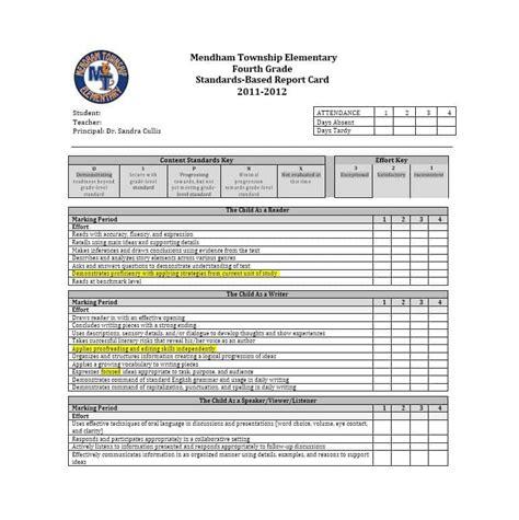 real fake report card templates homeschool high