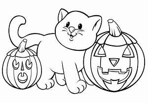 Halloween Coloring Pages To Print Out For Free Free ...