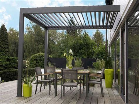 pergola bioclimatique en kit pergola bioclimatique leroy merlin