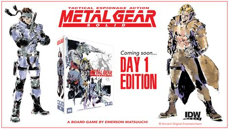 Metal Gear Solid The Board Game Kept You Waiting Huh