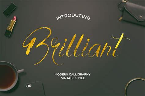 Brilliant ~ Script Fonts ~ Creative Market