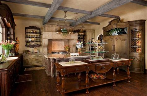 Fabulous French Country Kitchen Designs