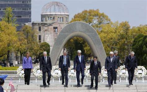 john kerry visits hiroshima memorial  decades