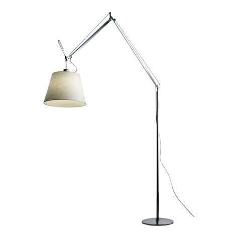 Tolomeo Mega Floor L Replacement Shade by Artemide Tolomeo Mega Terra Floor L Parchment Shade