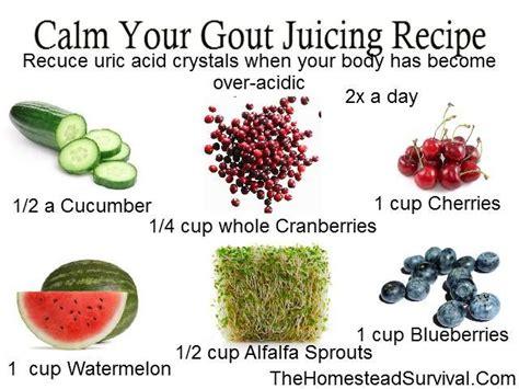 gout juice cherry recipes recipe diet flare juicing foods remedies cherries acid calm food survival drink homestead own juices natural