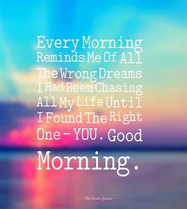 Beautiful Morning Quotes For My Wife - Loves Quotes