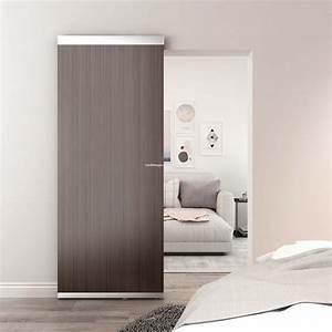 Sliding, Barn, Door, With, Hardware, In, Back, Hidden, Sliding, Wooden, Door