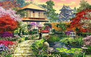 Splendid Japanese Garden wallpapers