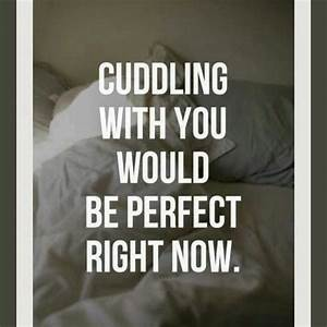 Cuddling With You Would Be Perfect Right Now Pictures ...