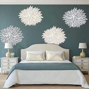 bedroom flower wall decals bedroom wall flowers beautiful With beautiful flower decals for walls