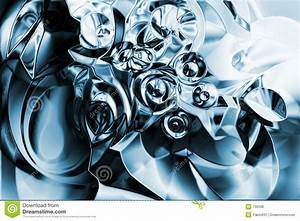 A Chrome Liquid Metal Background Stock Illustration ...