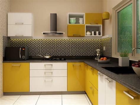 small space kitchen island ideas l shaped modular kitchen designs india homelane