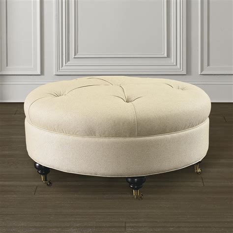 how to build an ottoman custom round ottoman for home or office
