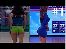 Mexican Weather Girl Yanet Garcia HOT Compilation 1