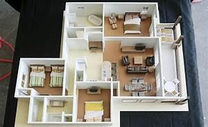 50, Three, U201c3, U201d, Bedroom, Apartment, House, Plans