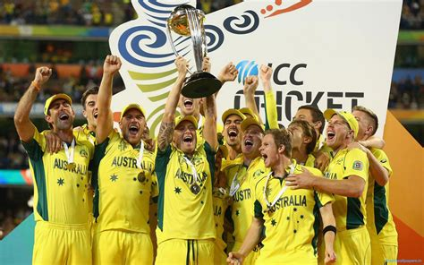 Australia Icc 2015 Cricket World Cup Winners Wallpapers