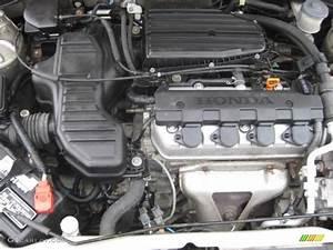 2003 Honda Civic Lx Sedan 1 7 Liter Sohc 16v 4 Cylinder Engine Photo  55316902